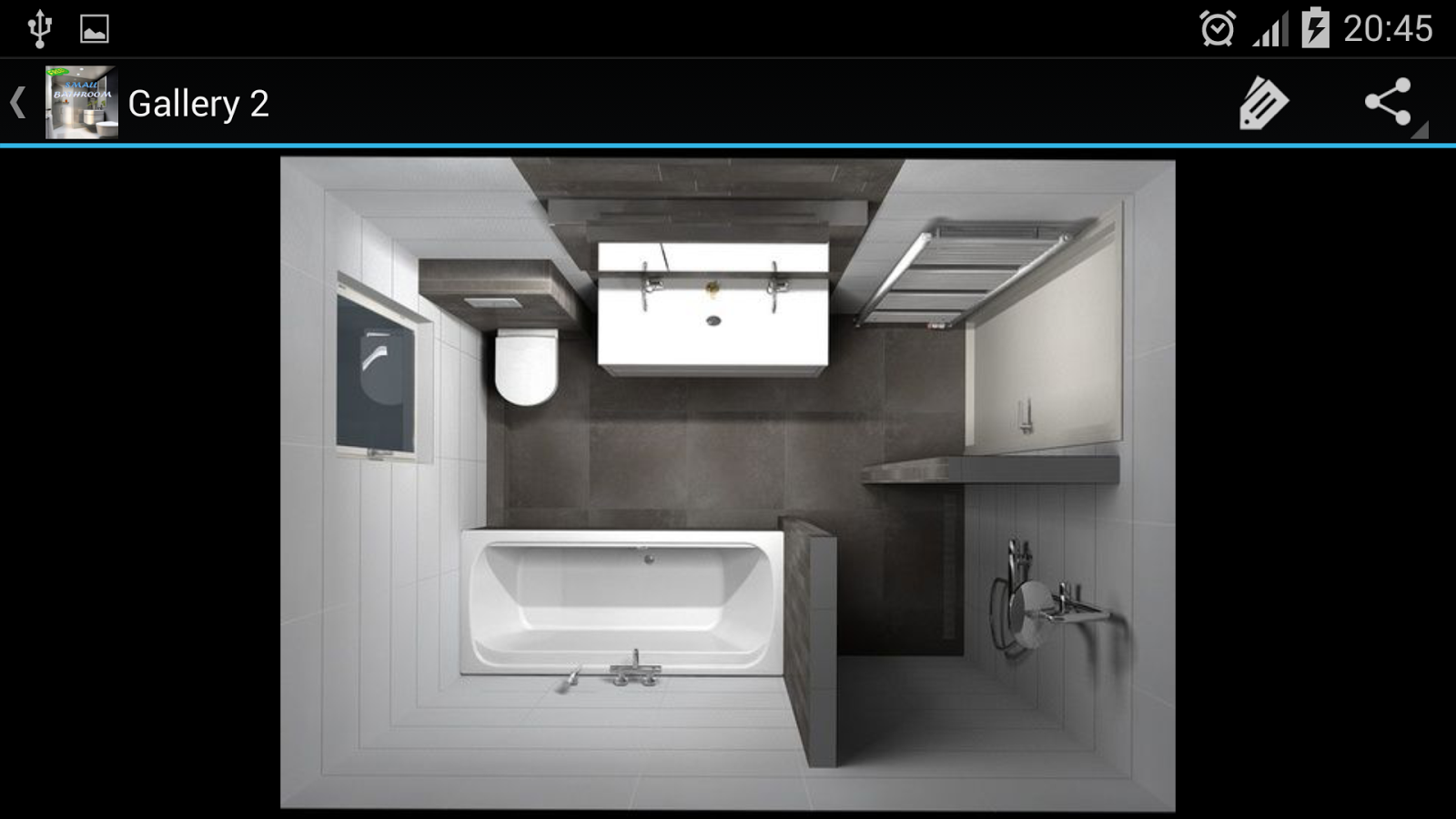 Small bathroom android apps on google play for H g bathrooms brookvale