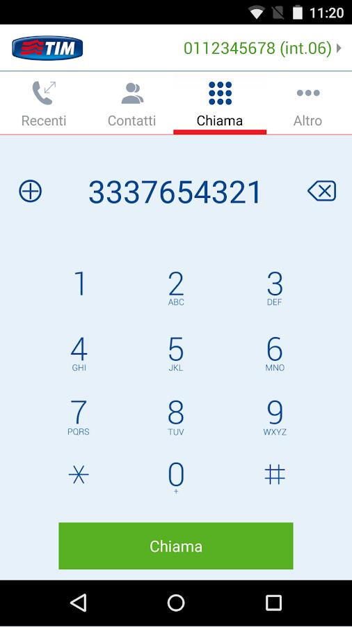 TELEFONO- screenshot
