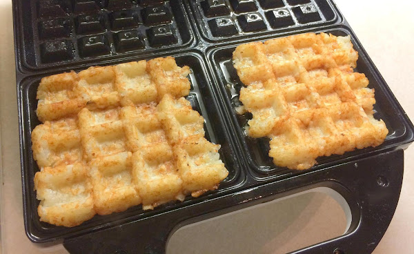 Tater Tot Waffles And Eggs Recipe