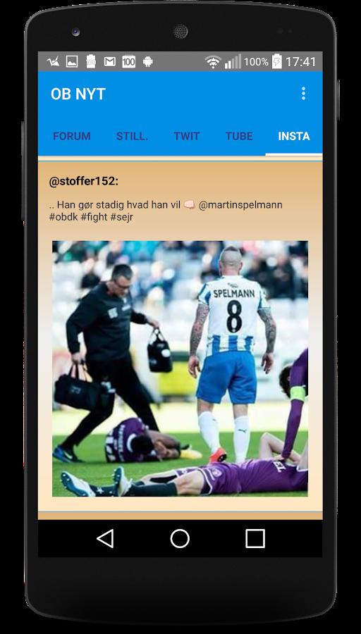 OB Nyt- screenshot