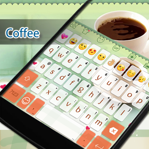 Coffee Eva Keyboard -Diy Gif 遊戲 App LOGO-硬是要APP