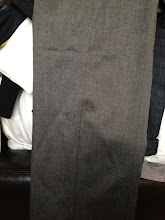 Photo: $45. Ann Taylor LOFT size 4 gray suit w/waist detail. (Pants have slightly visible pulled thread.)