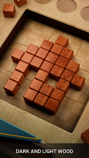 Wood SudoBlocks 3D - A Better Classic Wood Puzzle android2mod screenshots 3