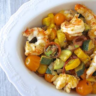 Shrimp and Zucchini Sauté