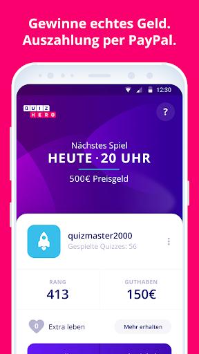 QuizHero ? Live Quiz-Show  captures d'écran 3