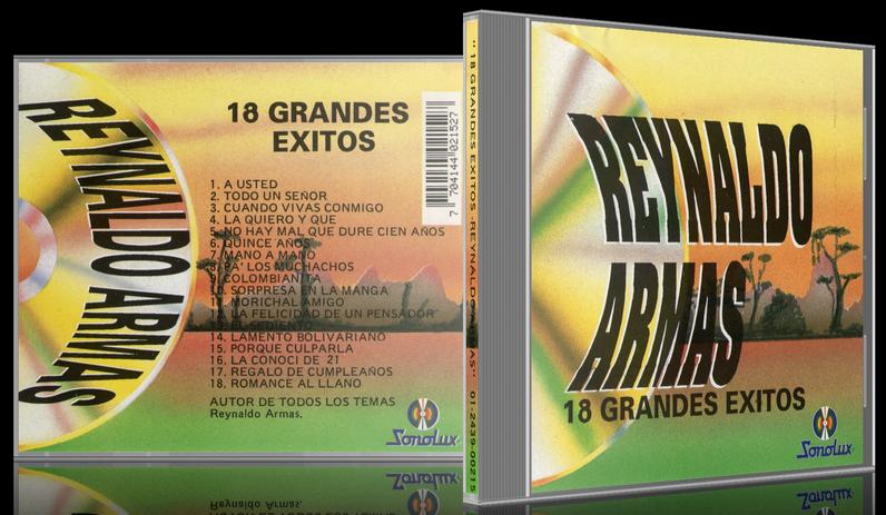 Reynaldo Armas - 18 Grandes Éxitos (1994) [MP3 @320 Kbps]