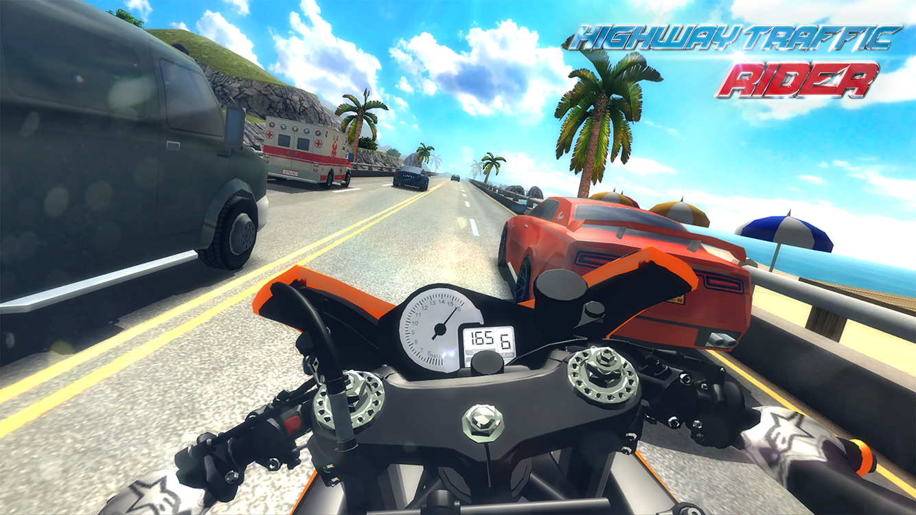 Highway Traffic Rider- screenshot