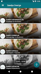 Sandys Sverige - náhled