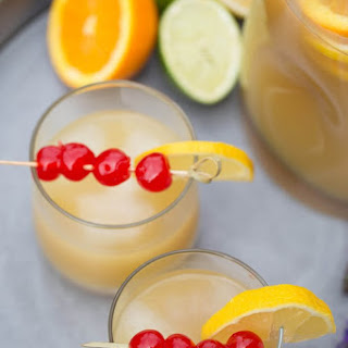 Whiskey Sour Party Punch.