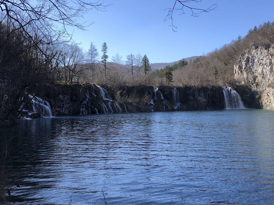 Waterfall at Plitvice Lakes National Park