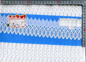 Photo: №731878-002白綿レース:巾60mm
