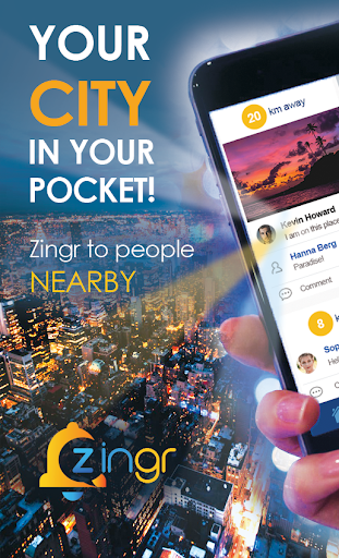 ZINGR - People nearby: meet, make new friends screenshots 2