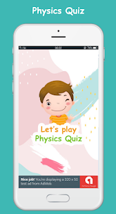 Physics quiz game - fun Screenshot