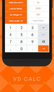 Voltage Drop Calculator   MEP 1.1