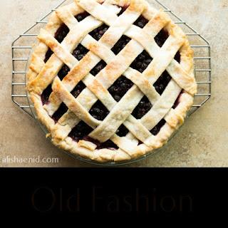 Old Fashion Saskatoon Pie.