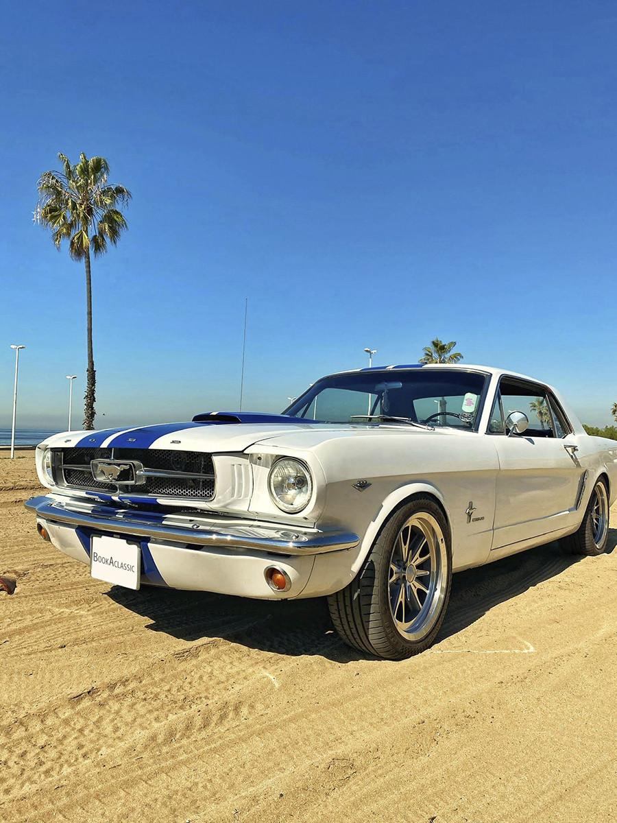 Ford Mustang Hire Santa Ana