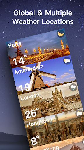 Live Weather Forecast: Accurate Weather 1.2.7 screenshots 5