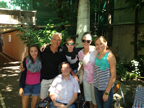 Photo: Great spending time with our good friend and a family hero Frank Reinel