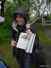 Photo: Gray furcula (Furcula cinerea), Linda Raibert marks the page