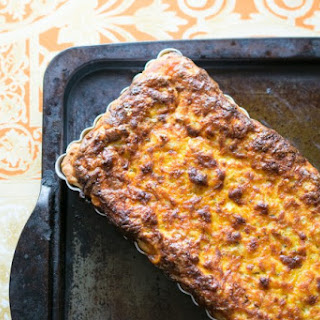 Cheesy Beans & Bacon Quiche