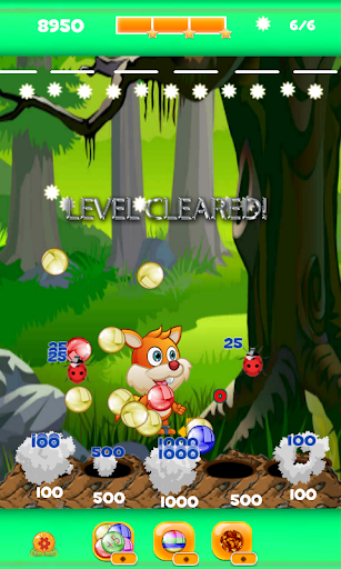 Bubble Shooter Squirrel