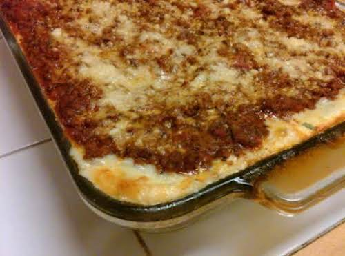 """My Favorite Lasagna """"This recipe is almost the same one that has..."""