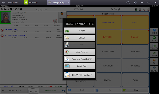 WeighPay Scale Compliance- screenshot thumbnail