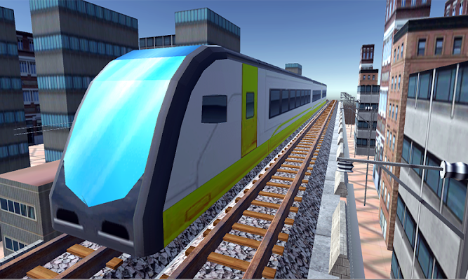 Hyderabad Metro Train Driving - screenshot