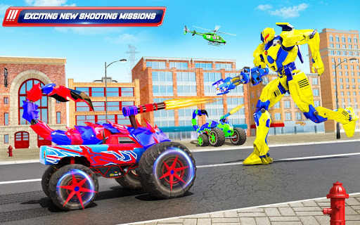 Scorpion Robot Monster Truck Transform Robot Games 9 screenshots 11