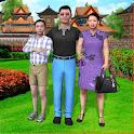 Virtual Japanese Mom Simulator: Happy Family Games icon