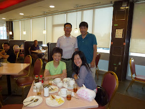 Photo: Early morning Hong Kong style breakfast. Then Ah Mou and Carolyn started driving back to New Jersey.
