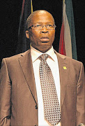 BLEAK:  Minister of Correctional Services  Sibusiso Ndebele