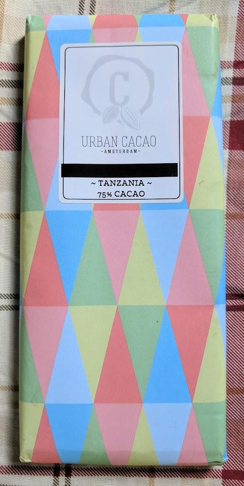 75% urban cacao tanzania bar