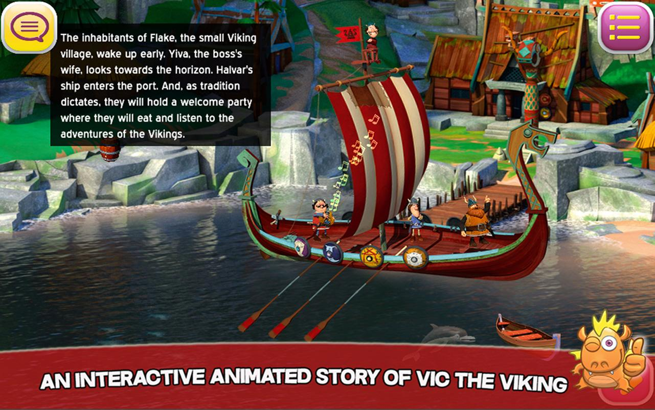 Vic the Viking: Play and Learn- screenshot