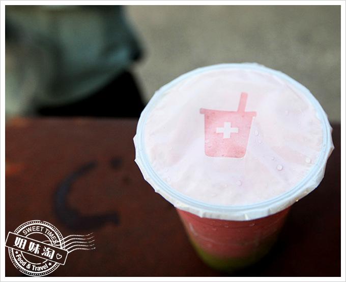 鮮果診所-抹茶草莓優格
