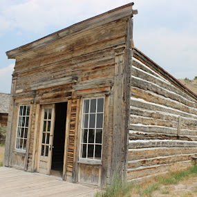 by Liz Huddleston - Buildings & Architecture Public & Historical ( bannack, bannack ghost town, ghost town, montana )