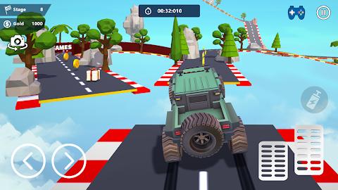 無料カースタント3D - 極上のシティカーレーシングのおすすめ画像3