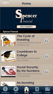 Spencer Financial Services- screenshot thumbnail