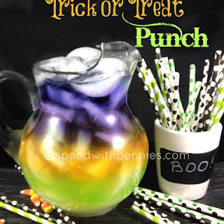 Trick or Treat Halloween Punch!.