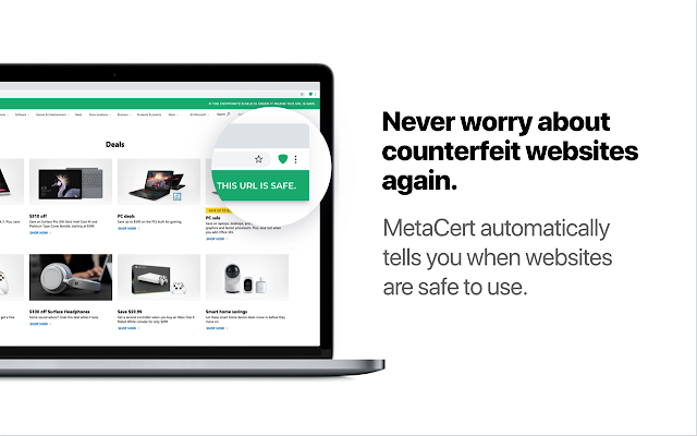 MetaCert: Internet Security