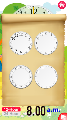 Clock Learning for Kids 2017 - screenshot