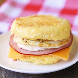 Low Carb Breakfast Sandwich.