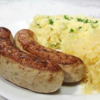 Ingredients Authentic German Sauerkraut.