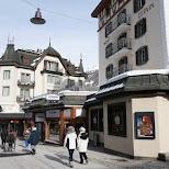 Zermatt downtown in Zermatt, Valais, Switzerland