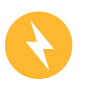 Safety history yellow power outage icon