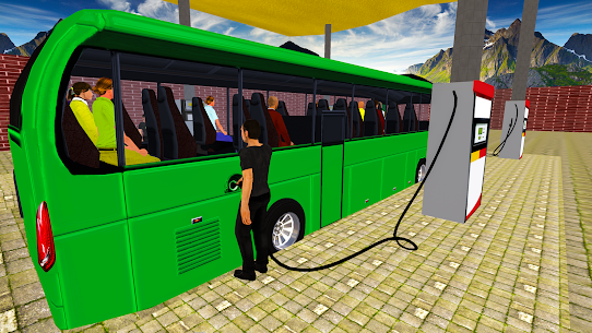 Coach Bus Simulator Driving 2: Bus Games 2020  Apk Download For Android and Iphone 4