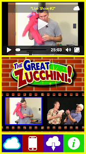 Great Zucchini App- screenshot thumbnail