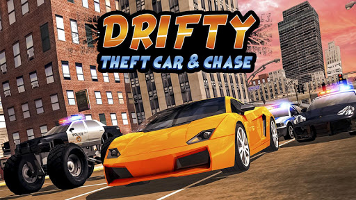 Drifty Theft Car & Chase 1.3 screenshots 1