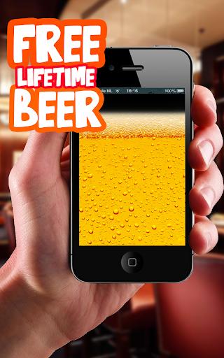 Free Lifetime Beer