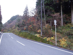 右に登山口(巡視路口)